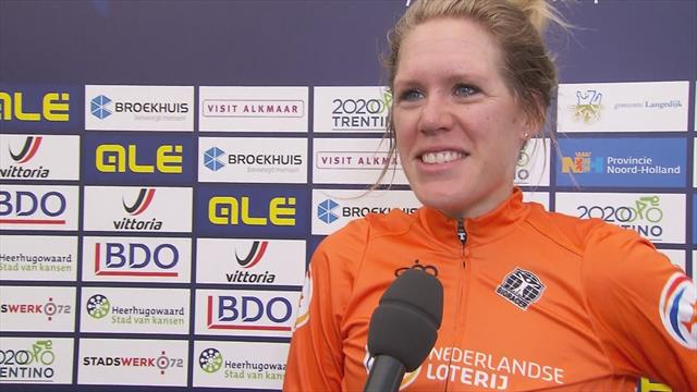 Ellen van Dijk: 'Deze overwinning is heel speciaal'