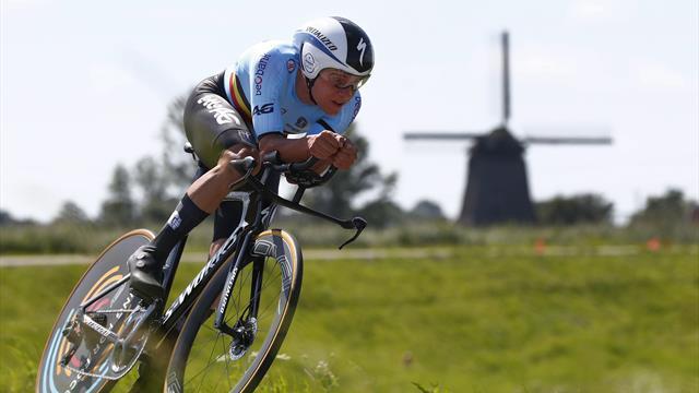 WATCH - The ride that made Evenepoel European champion