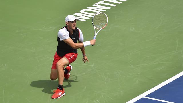 Dominic Thiem et Alexander Zverev éliminés en quarts de finale à Montréal