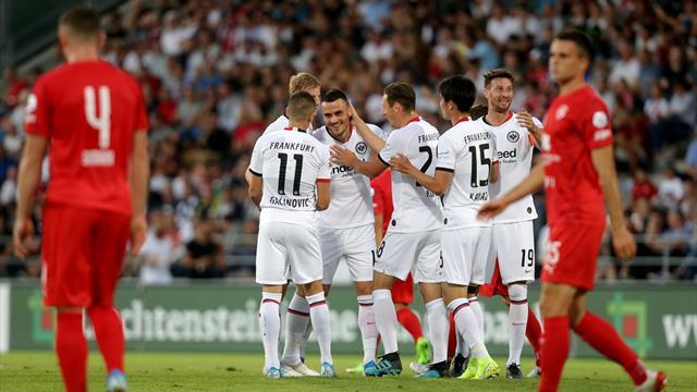 Eintracht Frankfurt - FC Vaduz live im TV, Liveticker und Livestream
