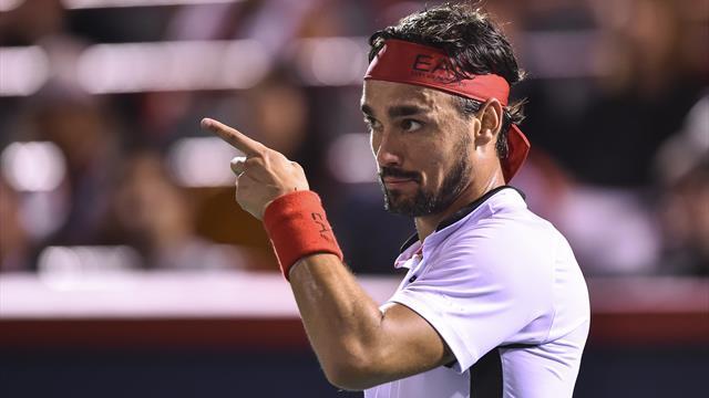 Fabio Fognini batte Mannarino ed è ai quarti di Montreal: ora lo attende Rafa Nadal