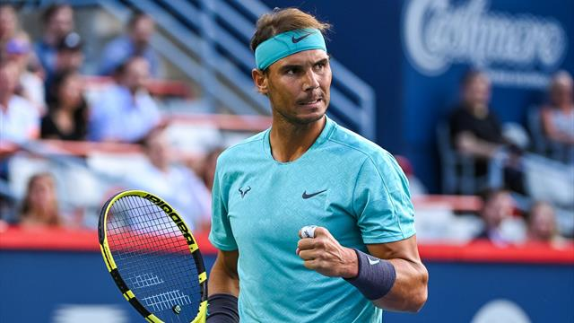 Nadal tames wind and Pella to cruise to Rogers Cup quarters