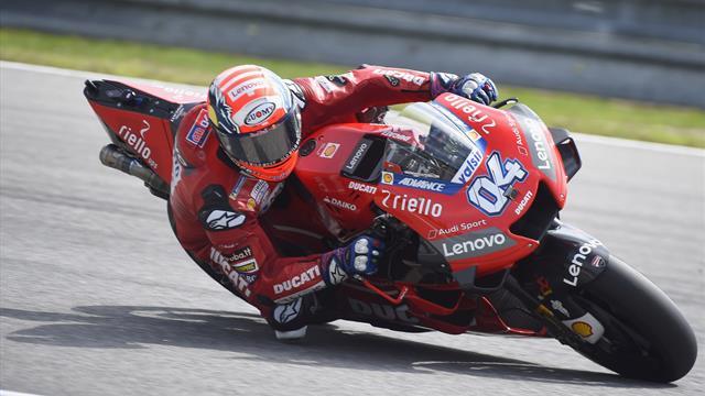 Dovizioso remporte le GP d'Autriche après un duel homérique avec Marquez — MotoGP