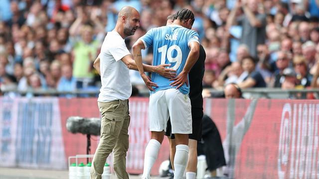 """Sané absent """"six à sept mois"""" selon Guardiola"""