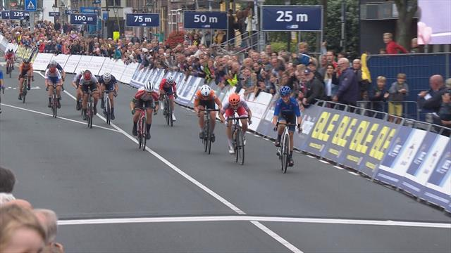 Paternoster wins U23 women's road race at Euro Champs