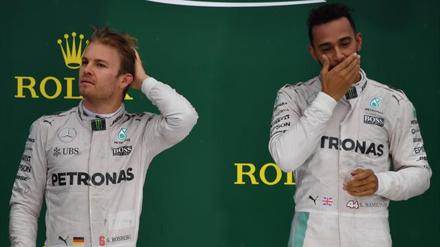 """""""Gescheiterte Karriere"""": Hamilton stichelt wieder gegen Rosberg"""
