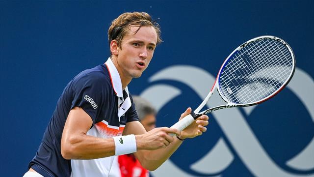 🎾 Включай Eurosport 1: Медведев сражается с Тимом за полуфинал