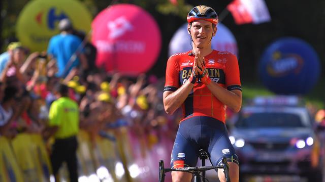 """""""Bilderbuch-Radsport"""": Mohoric triumphiert auf der 7. Etappe"""