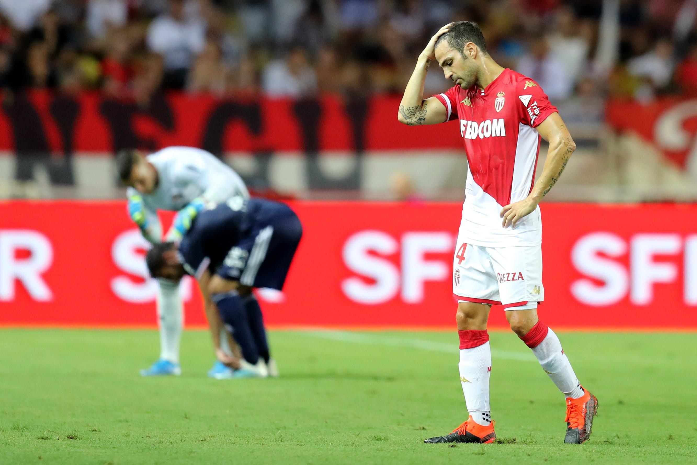 Cesc Fabregas, Monaco-Lyon / Ligue 1