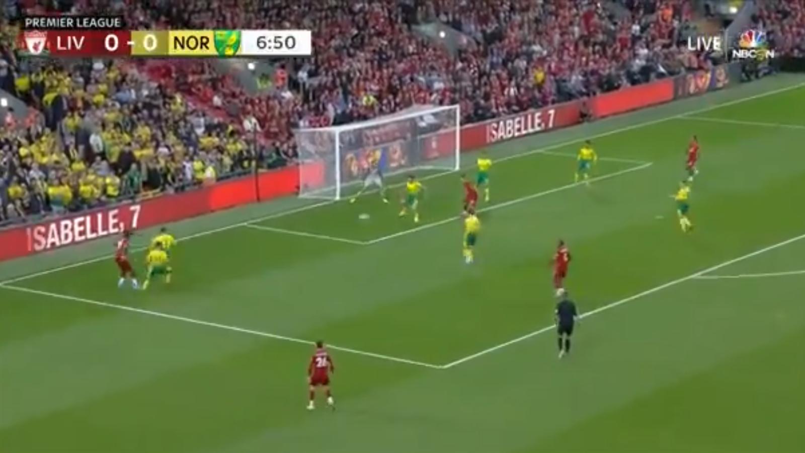 «Ливерпуль» потерял Алиссона Беккера, но вкатил «Норвичу» 4 за тайм в матче 1 тура АПЛ (видео)