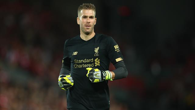 Liverpool's Van Dijk backs Adrian to cover for injured Alisson