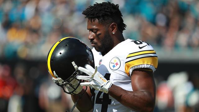 Helm-Gate in der NFL: Brown droht mit Streik