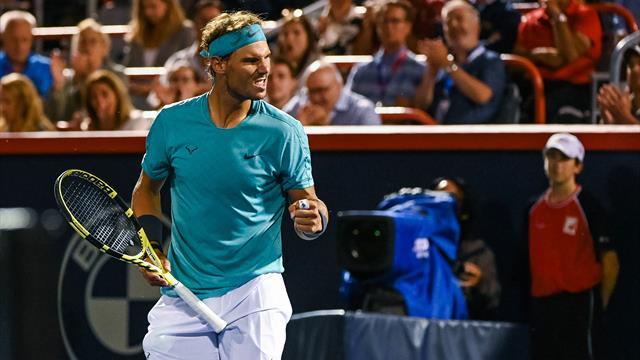🎾 💪Nadal ganó a Fognini y espera en semifinales a Bautista que juega a las 19:00 con Monfils