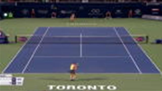 Une entrée en scène difficile pour Simona Halep — Coupe Rogers