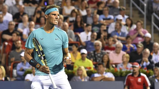 Nadal survives Fognini scare in Montreal