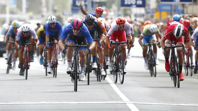 U23-Straßenrennen: Zukünftiger Sunweb-Profi sprintet zu Gold