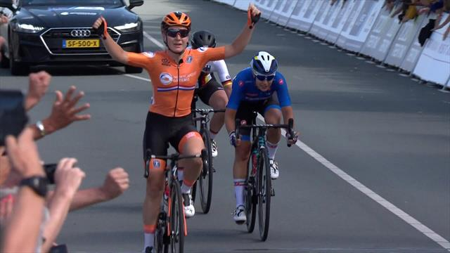 Ciclismo, Campeonatos de Europa (F): La neerlandesa Pieters fue la más lista y se llevó el oro