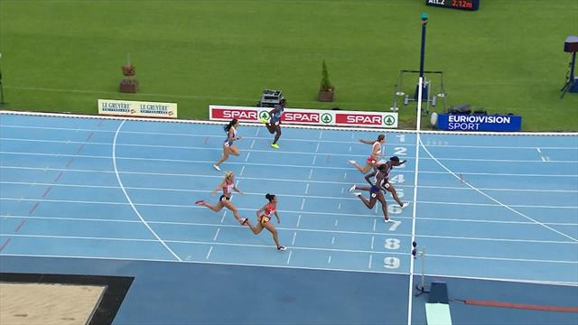 Zahi gives France another win in women's 100m