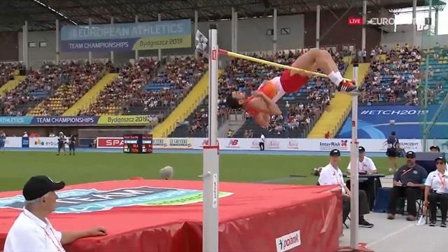 Campeonato de Europa por equipos: Final impoluta de Sancho en salto de altura