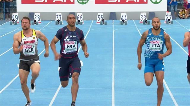 Vicaut wins men's 100m final for France in Bydgoszcz