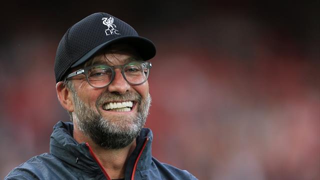 Klopp macht den CR7: Liverpool-Coach hielt Ansprache in Ronaldo-Boxershorts
