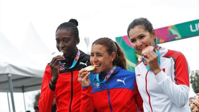 La cubana Arlenis Sierra repite en Lima oro de Guadalajara 2011 en el ciclismo de ruta