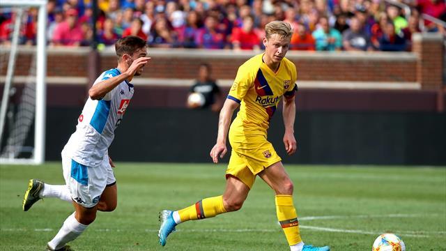 """De Jong : """"Quand tu joues au Barça ou à l'Ajax, tu as besoin de bien jouer"""""""