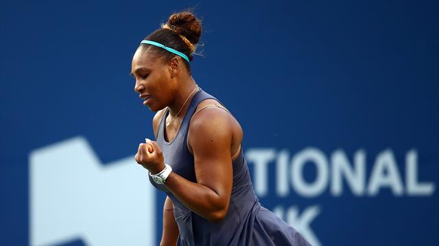 Nach hartem Fight: Serena Williams im Finale von Toronto