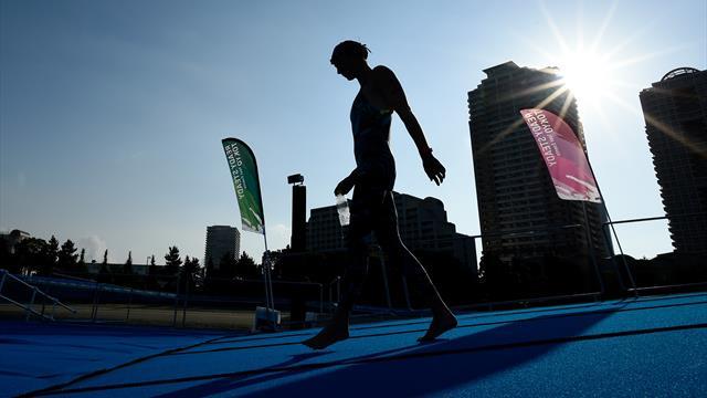 """""""Eau un peu puante"""" et température excessive : le site de Tokyo inquiète à un an des Jeux"""