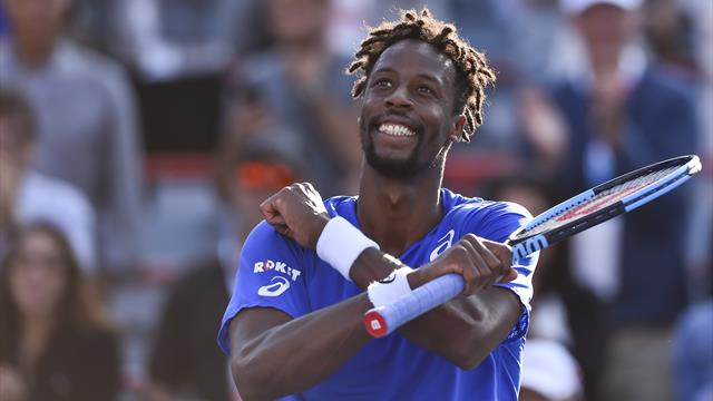 Monfils wins tough quarter-final to set up Nadal clash but may pull out