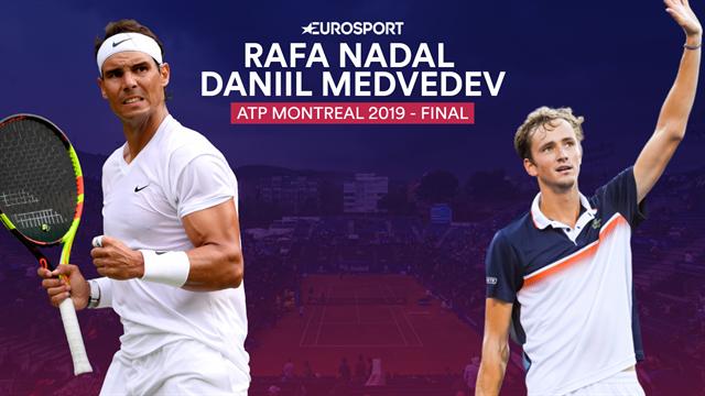 ATP Montreal, Rafa Nadal-Daniil Medvedev: El 35º pasa por derrotar a un 'nuevo' rival
