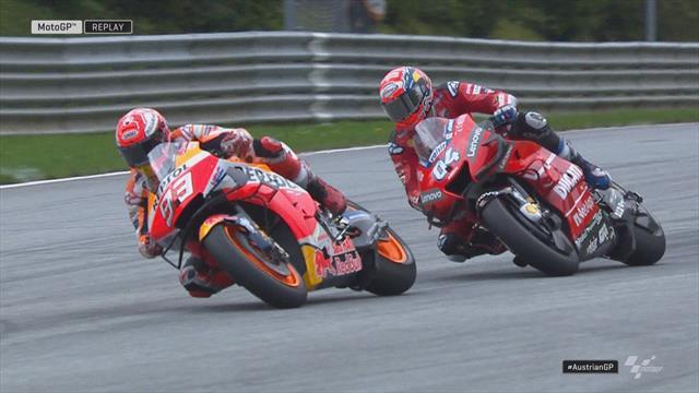 MotoGP Oostenrijk | De laatste ronde, het gevecht tussen Dovizioso en Márquez