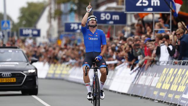 Viviani defends Italy's European title with perfectly-timed move