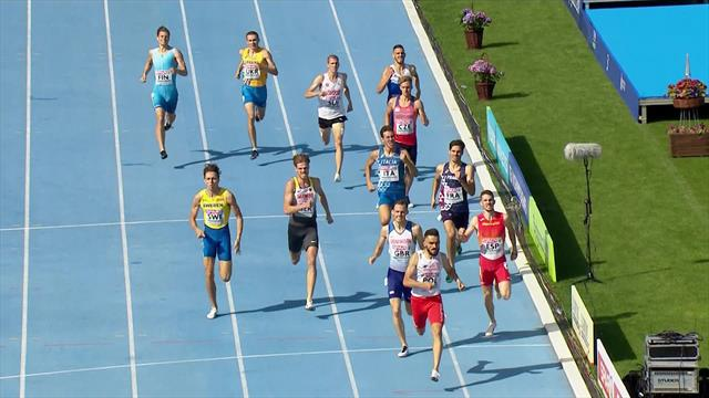 Kszczot beats GB's Jamie Webb into second in 800m