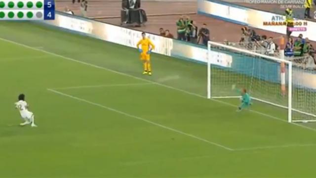 Красивая перестрелка «Ромы» и «Реала» закончилась на промахе Марсело в серии пенальти