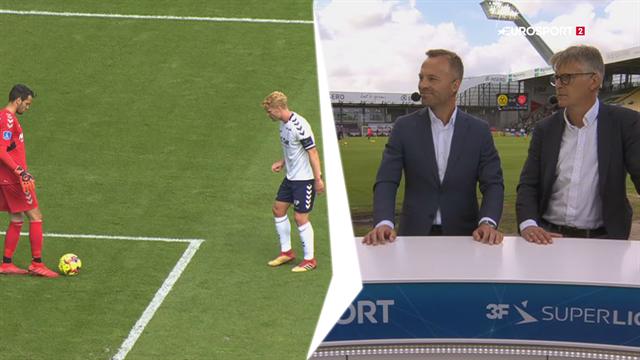 Lars Jacobsen om sidste rundes målsparks-forvirring: Det er pinligt!