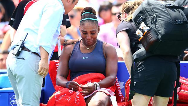 Serena Williams déclare forfait