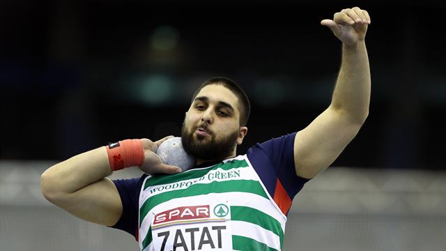 Team GB relay team disqualified after reserve shot putter is accidentally registered