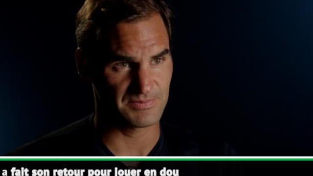 """Federer : """"Je suis vraiment heureux pour Andy"""""""