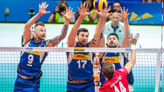 TQO de Volley : La France manque la qualification directe pour les JO de Tokyo