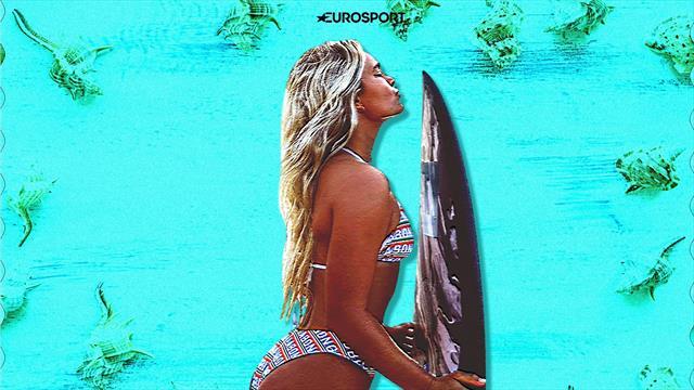 Серфингистка из Австралии сняла фильм про катание на доске голышом. Хотя она хороша и в купальниках
