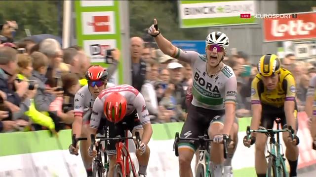 Binckbank Tour   Bennett wint regenachtige eerste etappe