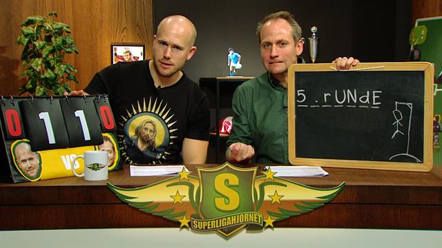 SuperligaHjørnet med Simo & Høygård, 5. runde