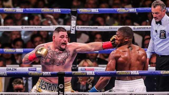 Boxing-Ruiz wants Joshua rematch in New York, Hearn warns of legal action
