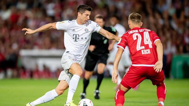 Bayern ease past Cottbus into German Cup second round