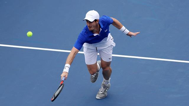 Murray unterliegt Gasquet bei Einzel-Comeback in Cincinnati