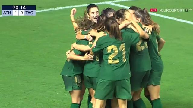 Trofeo Carranza: Maite Oroz le pone suspense al primer gol del Athletic