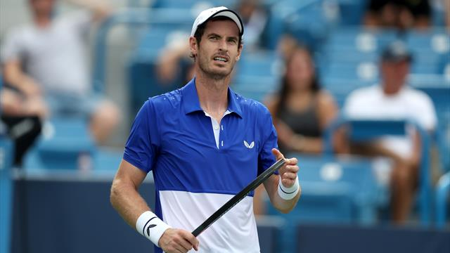 'Maybe I need to play a level down,' says Murray after second singles defeat
