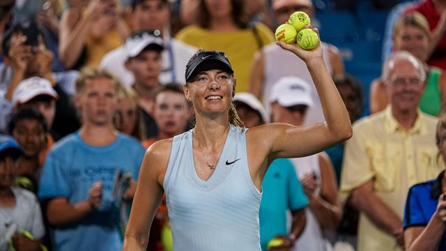 Sharapova sets up Barty battle