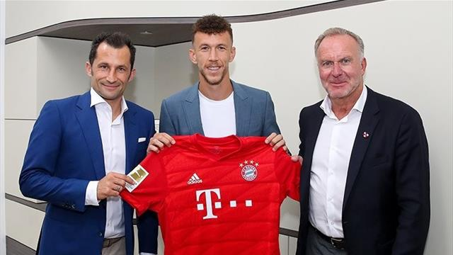 Perisic joins Bayern on loan from Inter
